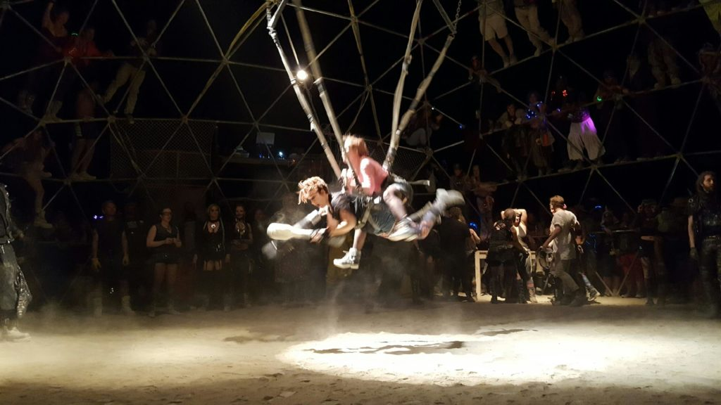 WE FOUGHT IN THE THUNDERDOME